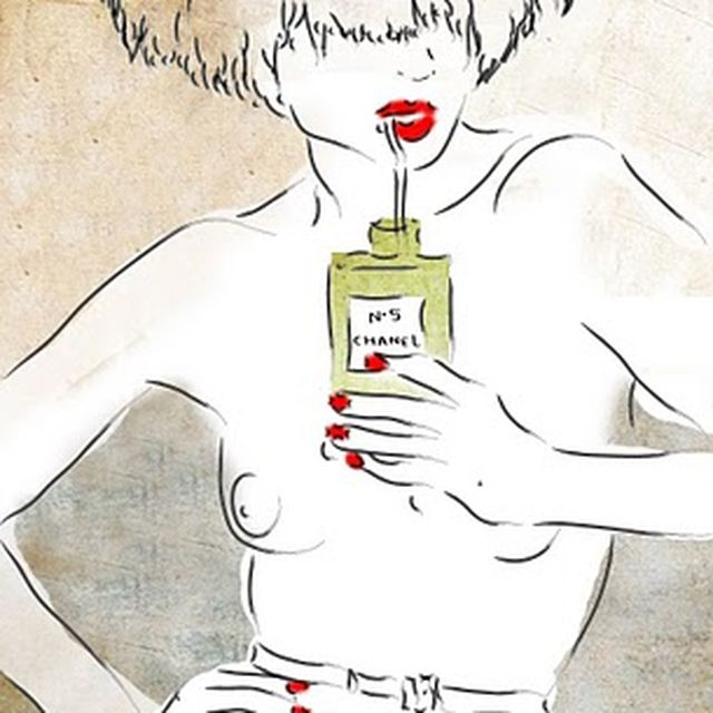 image: Yo bebo Chanel Nº 5 by taniaaristi