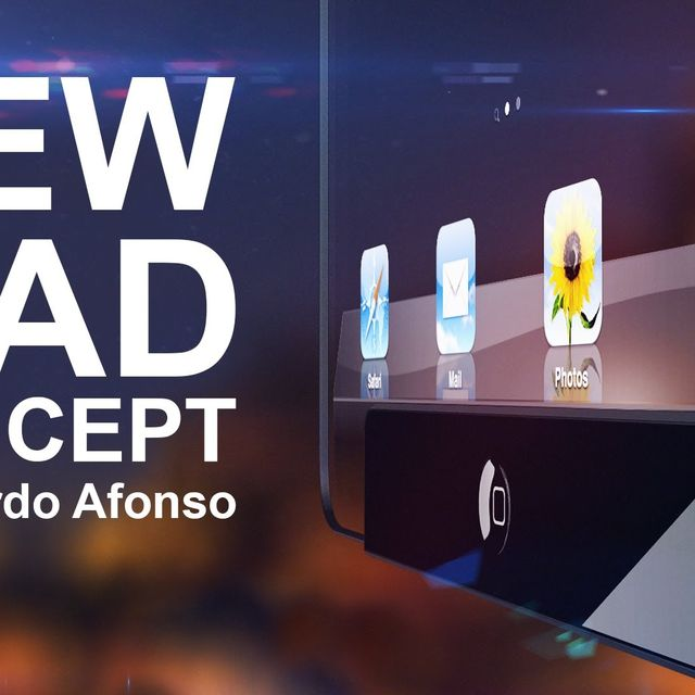 video: New iPad Concept - by Ricardo Afonso by a_techprobs