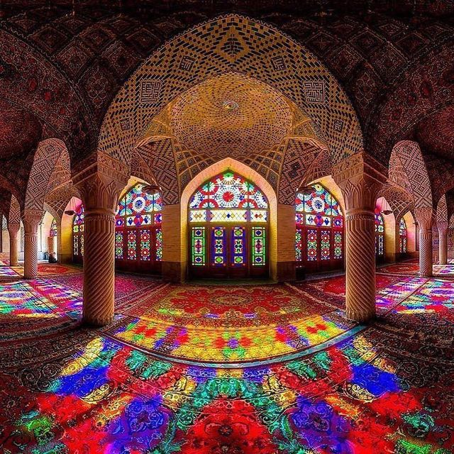 image: Mosque of colours in...via @figlet. . .@visual.fodder by visualfodder