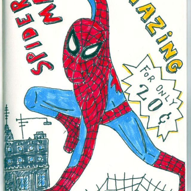 image: Amazing Spiderman by catsdontfly