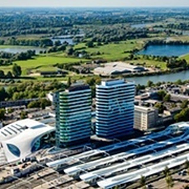 image: Arnhem's railyway station by wavesoftimeandspace