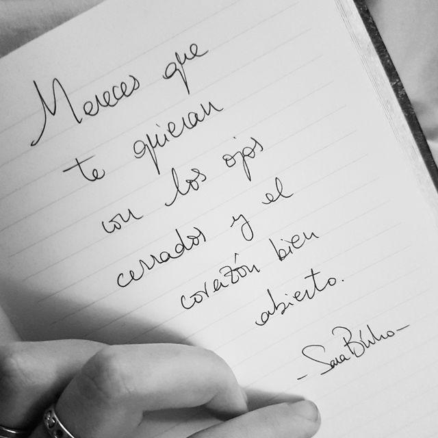 image: Mereces quererte by Sarabuho