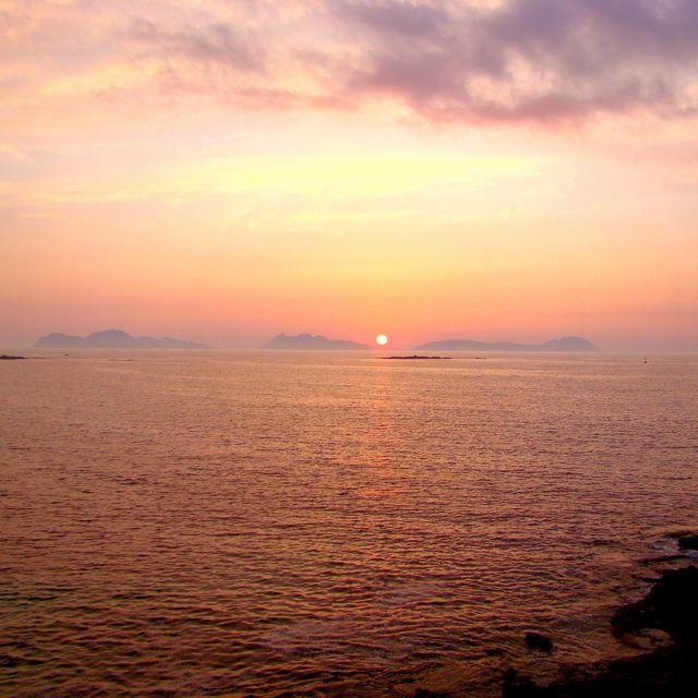 image: Cíes Islands from Canido. Galicia. by ergorgue