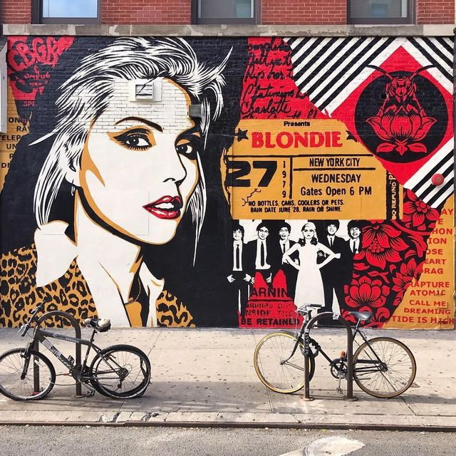 image: @obeygiant 4 @thelisaprojectnyc 'Blondie' wall in New York, USA ??(2017)•#obey #shephardfairey #urbanart #streetart #painting #streetartofficial #contemporaryart #nyc by streetart_official