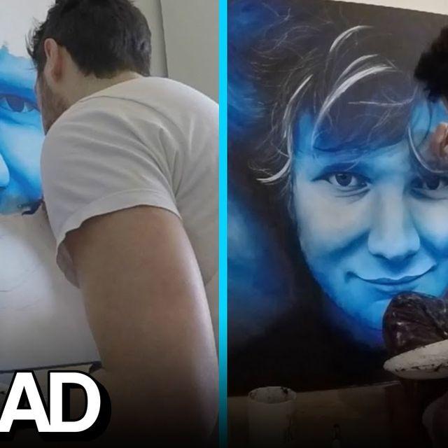 video: Amazing Ed Sheeran Speed Painting - Will Thompson by boton