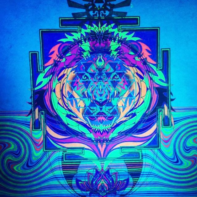 image: Leo Psychedelio by herro-a-rex
