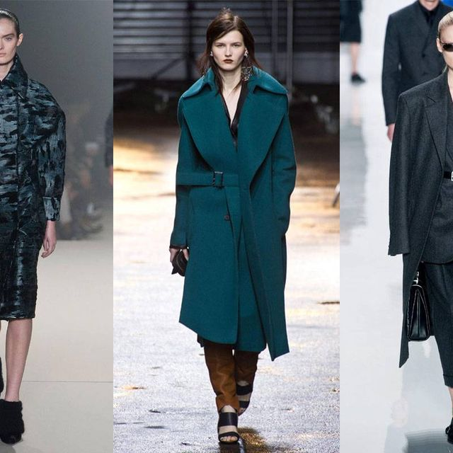 image: Power-Shoulder Outerwear on the Fall Runways by anjelica