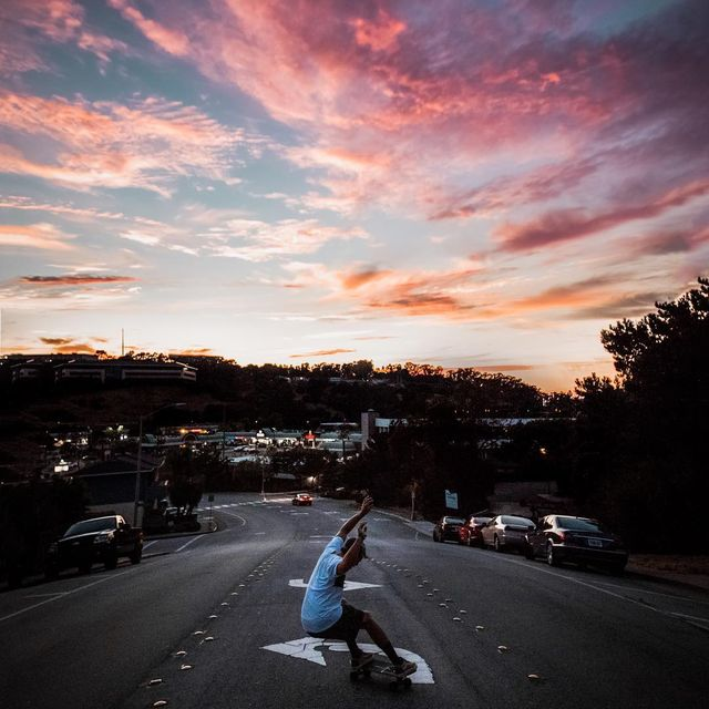 image: sunset shreds right out front of my casa ??? by kyleohlson
