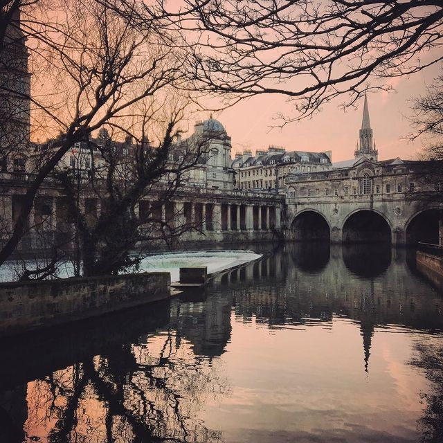 image: Early evening in #cityofbath #bathcity by mikekus