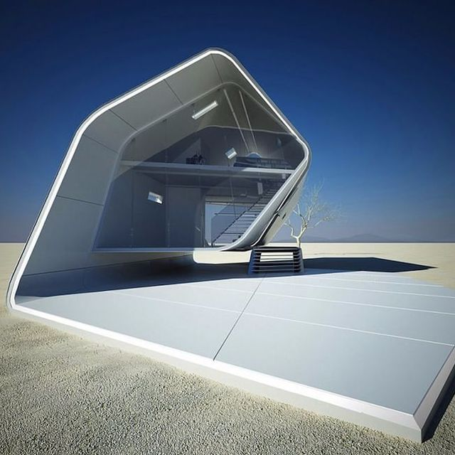 image: 'California Roll House' by architecture practice #ViolentVolumes. by ignant