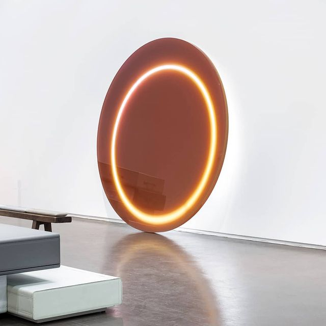 """image: DAWN LIGHTS X Studio Sabine Marcelis.••""""Dawn Light series explore the relationship between light and color and were inspired by the colors of the sky at the time just before sunrise. The main surface of the light sculpture is formed of cast... by producture"""