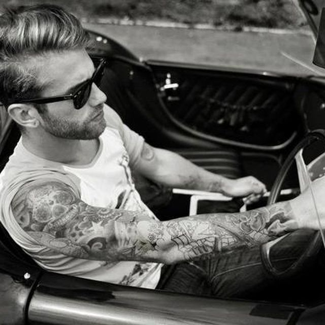 image: Lovely beard. Lovely tattoos. by aysa9