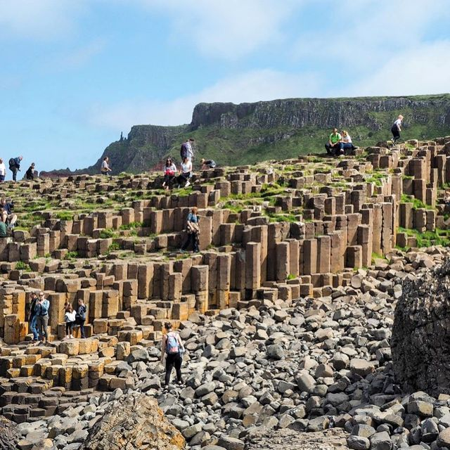 image: The Giant's Causeway is one of the most popular places to visit in Northern Ireland - and you can probably tell why from this photo: it's just so unique!There are legends about how the Giant's Causeway was formed (they all involve giants, in case you... by dangerousbiz
