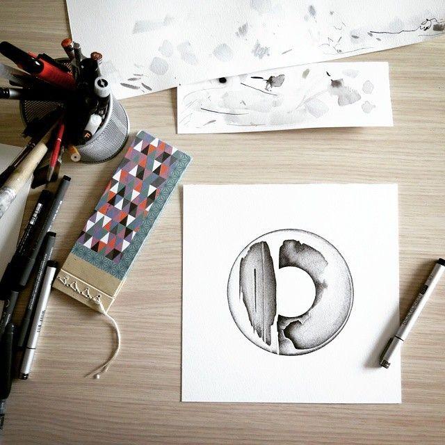 image: Tarde de trabajo y obra en proceso. Artwork in progr... by daniel_rod