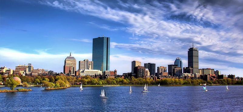 image: Boston skyline by martanicolas