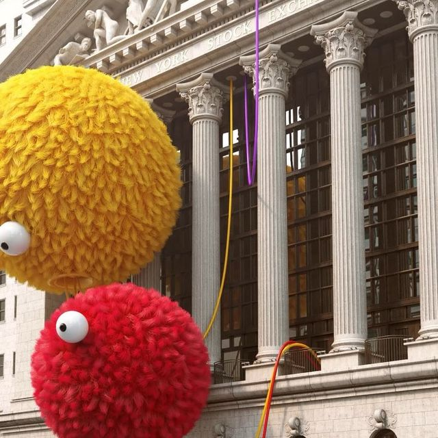 image: Sesame Street VS Wall Street by chrislabrooy