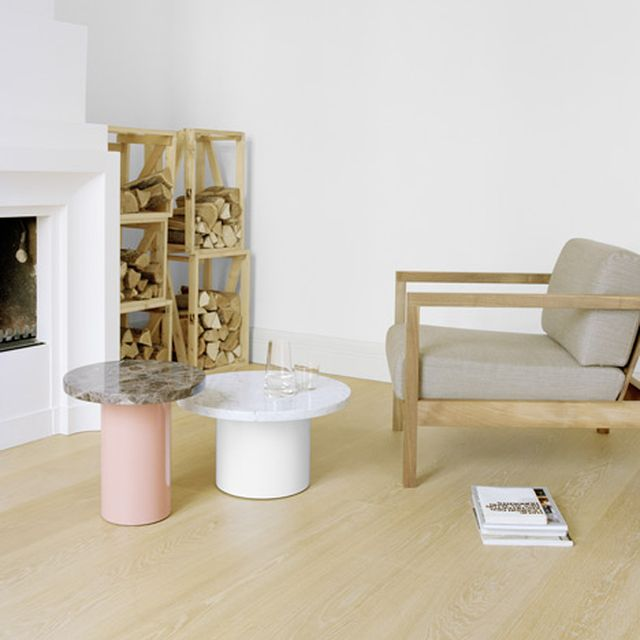 image: wood + marble + pastels by rocio_olmo