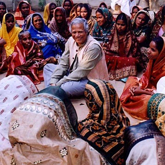 image: Mohamed Yunus invention microcredit by RachelVigo