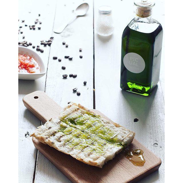 image: Buenos das!! PAZ y #AOVE en los desayunos #jienenses de by gastroandalusi