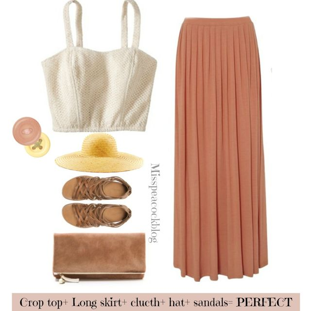 image: outfit by misspeacockblog