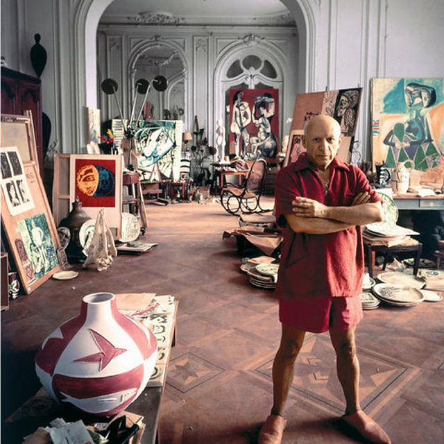 image: Pablo Picasso by brik