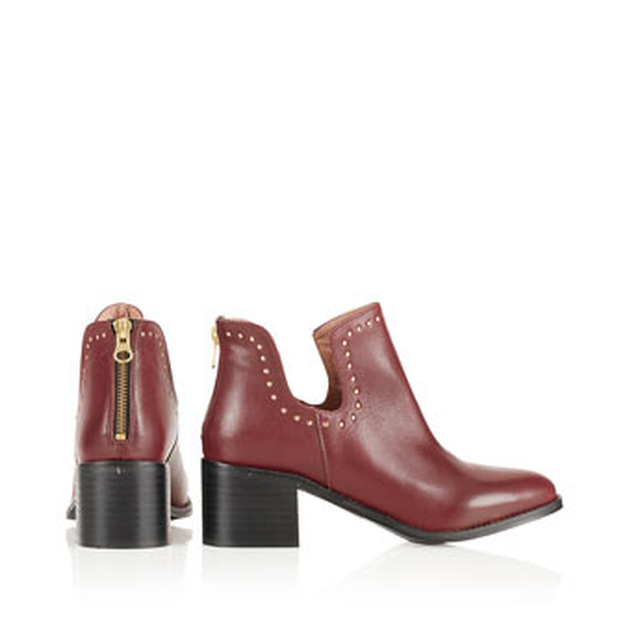 image: ACCENT STUD CUT OUT BOOTS // TOPSHOP by Blanchett