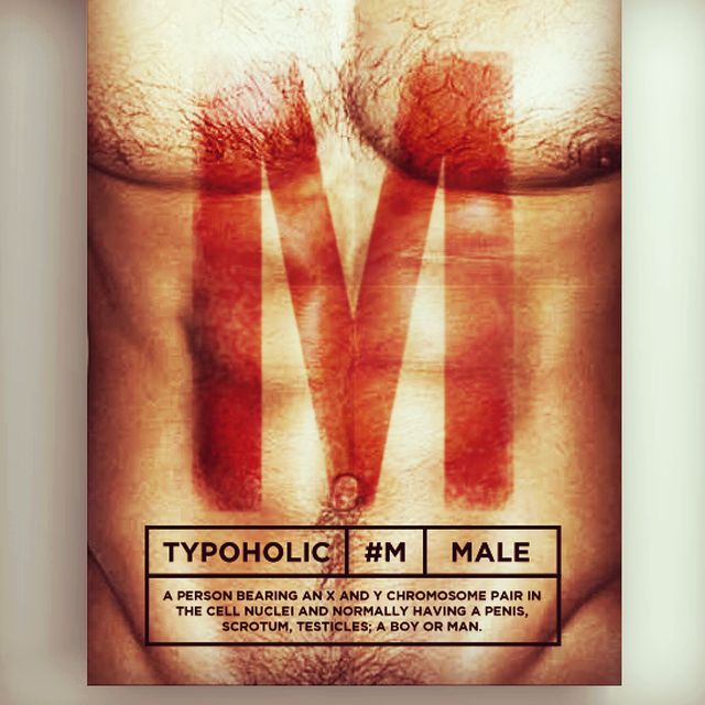 image: #typoholic - M by guillermovazquez