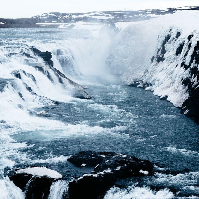 image: Gullfoss Waterfalls by jongrado