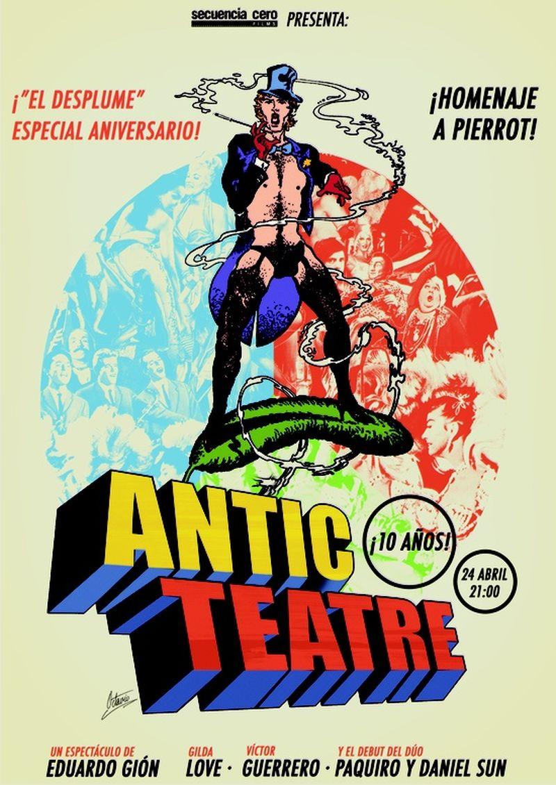 image: My posters / 10 años de Antic Teatre en Barcelona by octavioterol