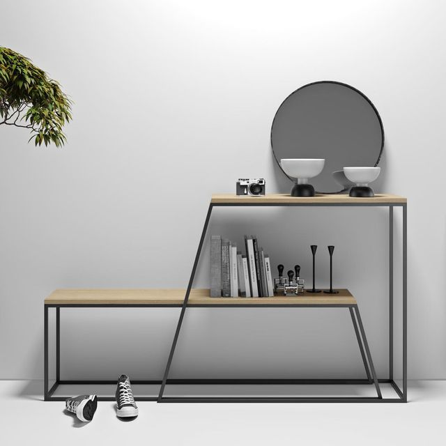 image: Horizon Console &...by Pavel Vetrov.via: @product.only #p_roduct #product #productdesign #furniture #minimal #minimalist #bench #console #ukraine #wood by product