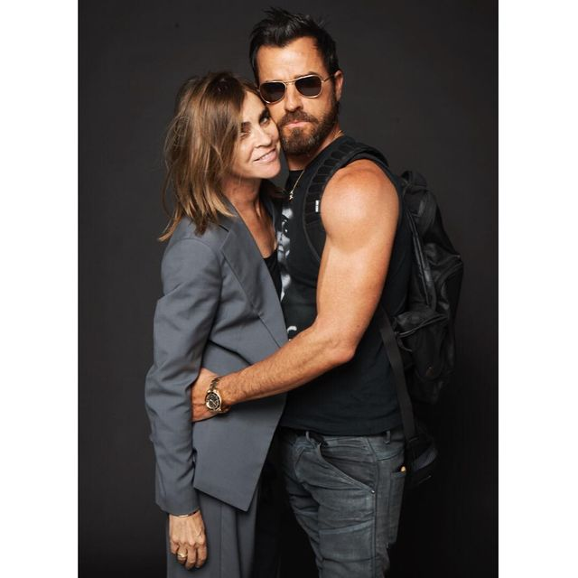 image: Two of my faves @justintheroux and @carineroitfeld 😍😍 by terrryrichardson