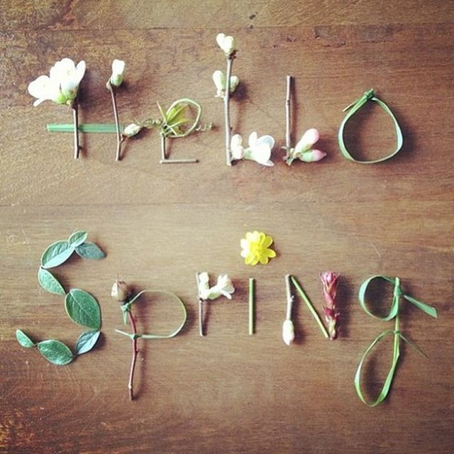 post: Colorful Yourself: HELLO SPRING! by estherasensio