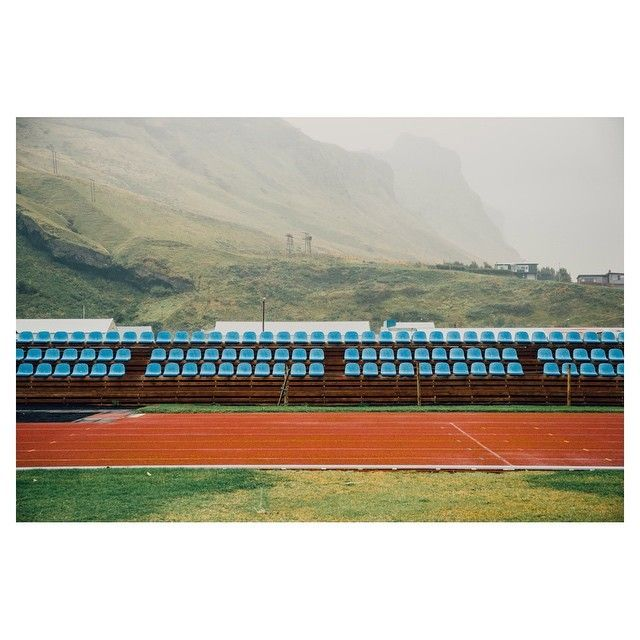 image: high school football pitch in Vik, Iceland, 2014. by duncan_wolfe