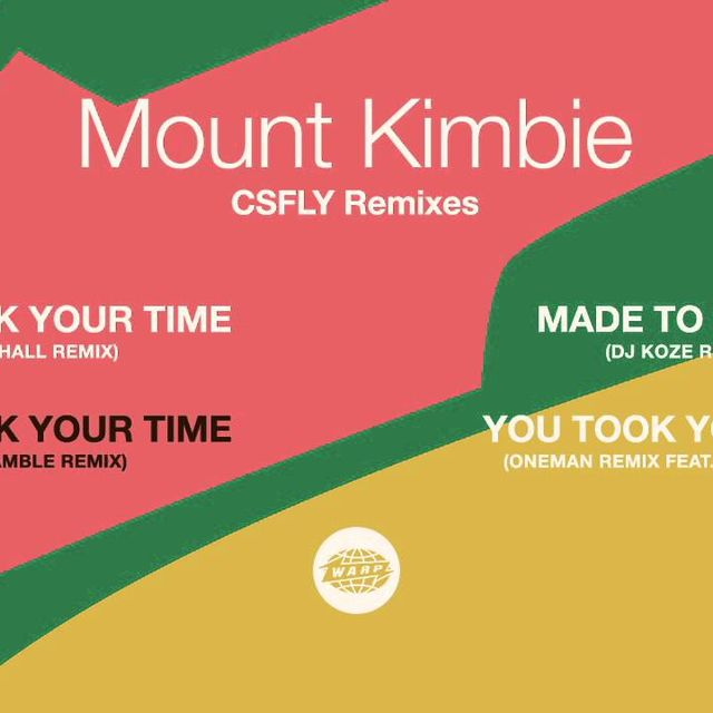 video: Mount Kimbie - You Took Your Time (Lee Gamble Remix) by haze