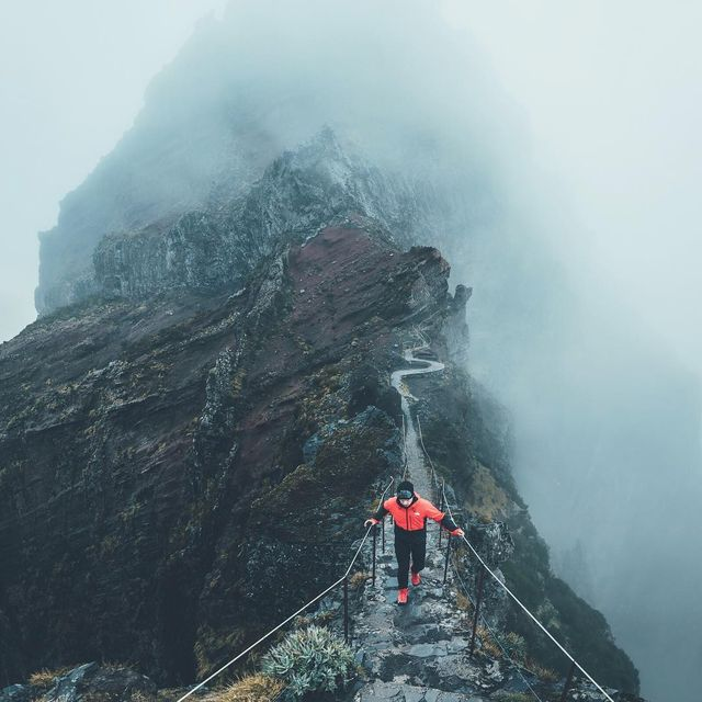 image: Two weeks ago we headed on a quest to explore this island of Madeira. The forecast predicted heavy winter storms which was exactly what we were looking for. We packed our cameras and the new Apex Flex II rain jacket by @thenorthfaceuk and went out.The... by lennart