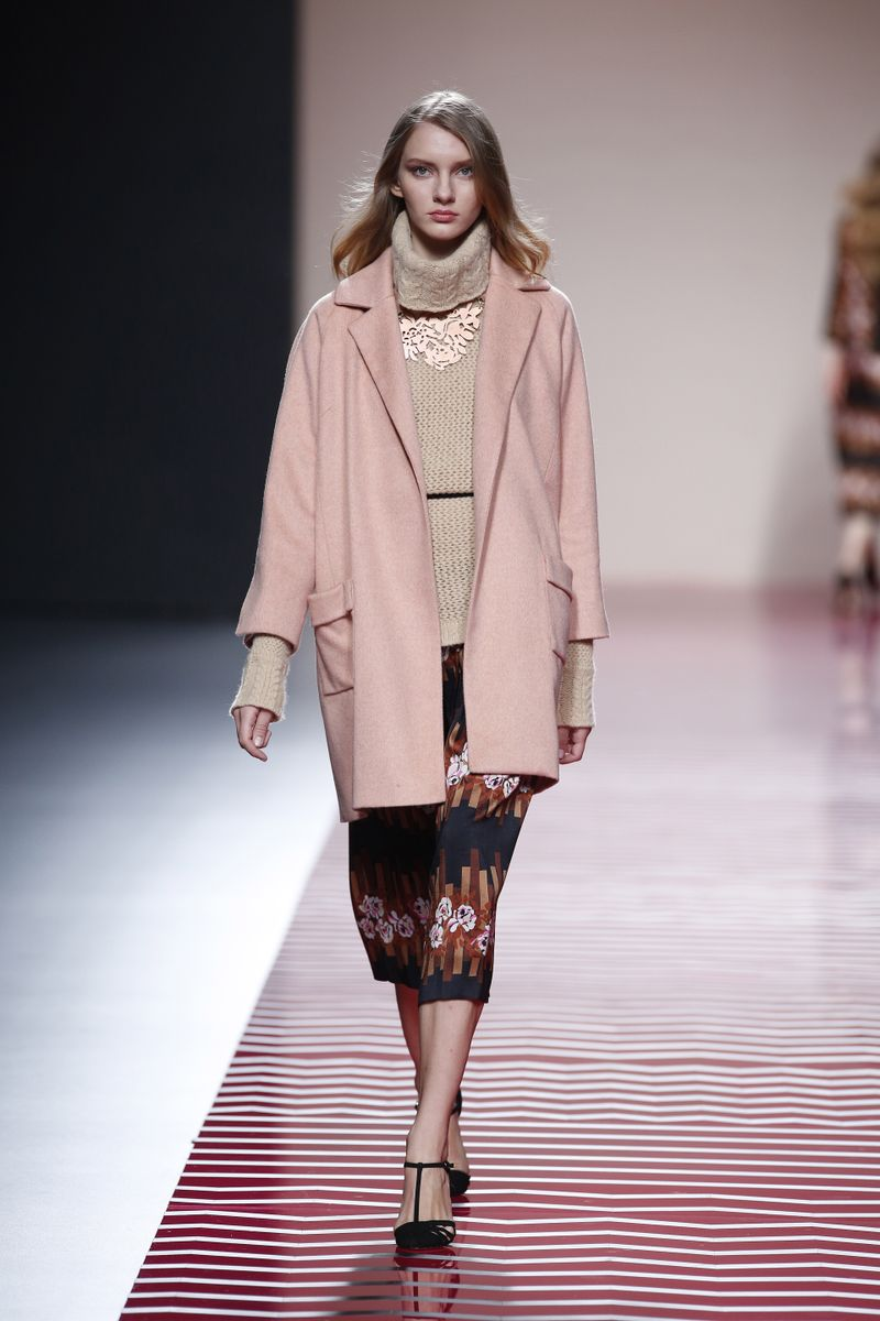 image: AILANTO fall/winter 2013.  SOFT PINK COAT. by ailanto