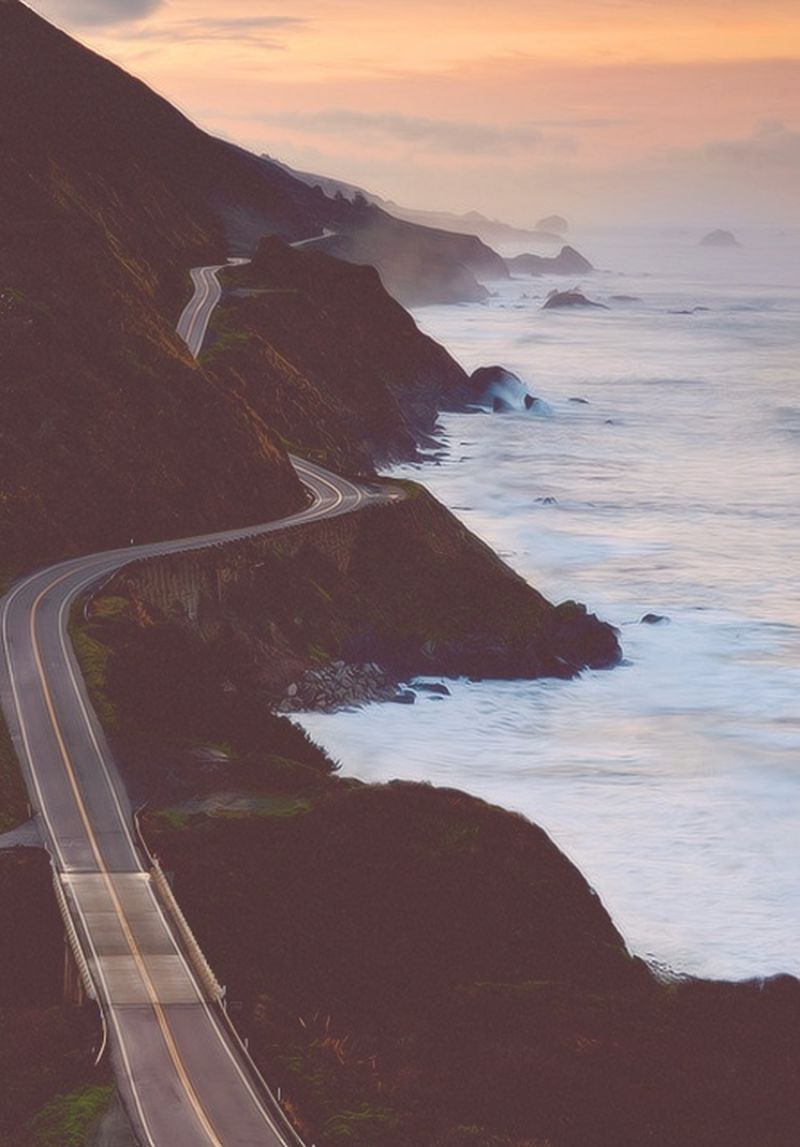 image: CALIFORNIA COAST by reixlc