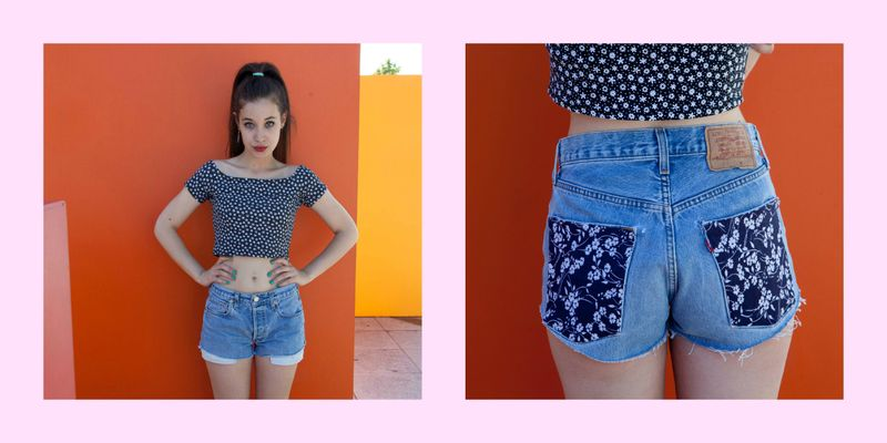image: Levis Floral Shorts by thelucius