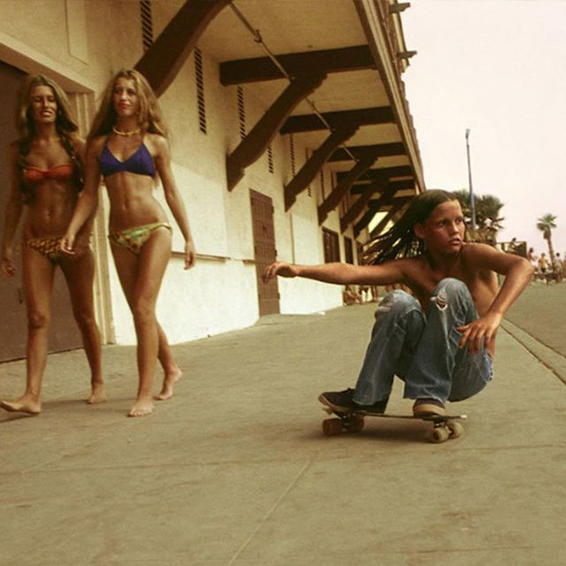 image: Skateboarding In 1970s California by neverdiscrete