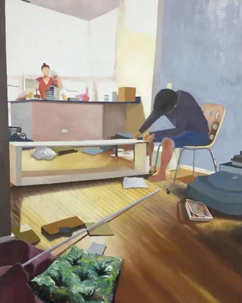 image: Work in progress by @cymk_11Yongmin... by ratedmodernart