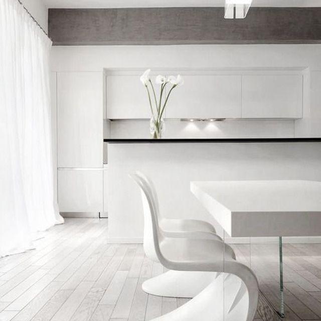image: WHITE PANTON CHAIR by anurbanvillage