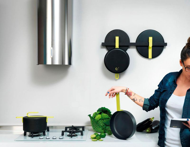 image: karim rashid: hook cookware collection for TVS by victoriakratoch