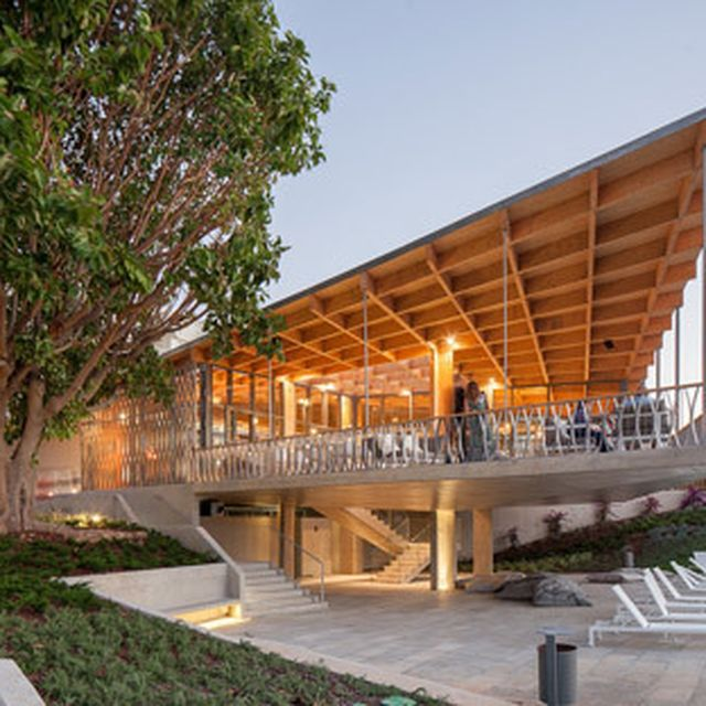image: Hotel cafe by Campos Costa Arquitectos projects towa... by brawnyred