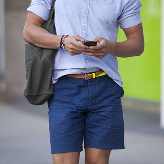 image: Blue Shorts by mordovas