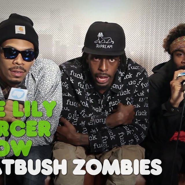 video: The Lily Mercer Show: Flatbush Zombies by couchpotatodjs
