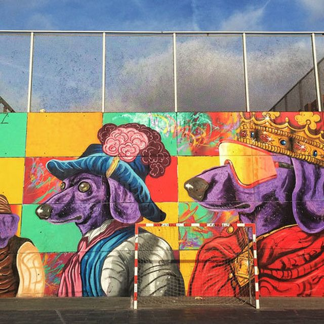 image: As Street Art Turns to Public Art in Barcelona by wealthylilac