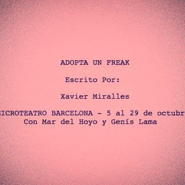 image: A l'octubre a @microteatrobcn by mardelhoyo