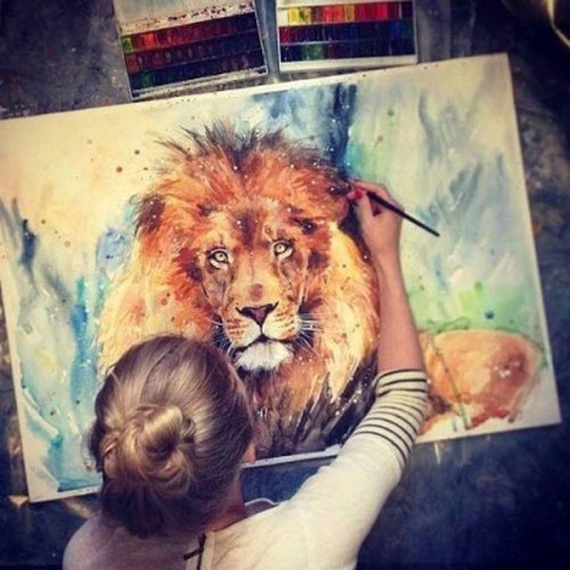 image: LION SPIRIT by art_seeker