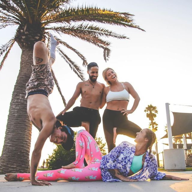image: #FamilyFriday ♥️..Did you get your dose of love today? Go out there, hug someone close to you. Embrace them, let your Anahatha Chakras meet. Feel the transfer of energy, love them dearly. ...I'm grateful for all the love that surrounds me everyday,... by jayomyoga