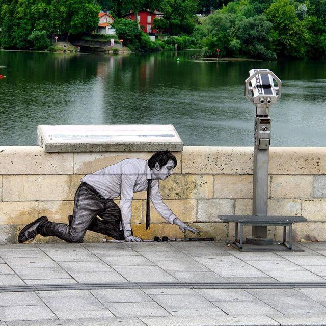 image: - Voir plus loin - by levaletdessinderue